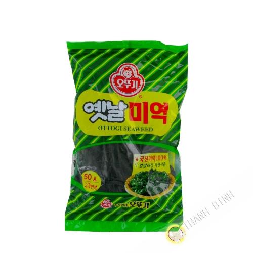 Las algas secas 50g de Corea