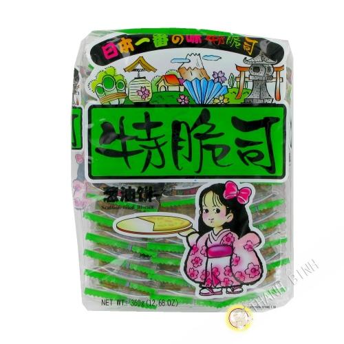 Biscotto erba cipollina FUJI 360g Cina