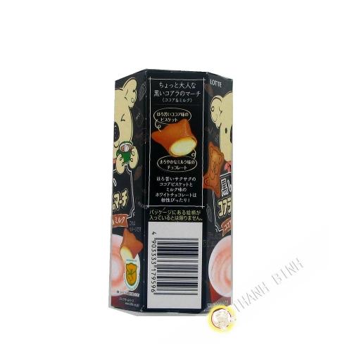 Biskuit gefüllt mit schokolade-milch LOTTE 48g JAPAN