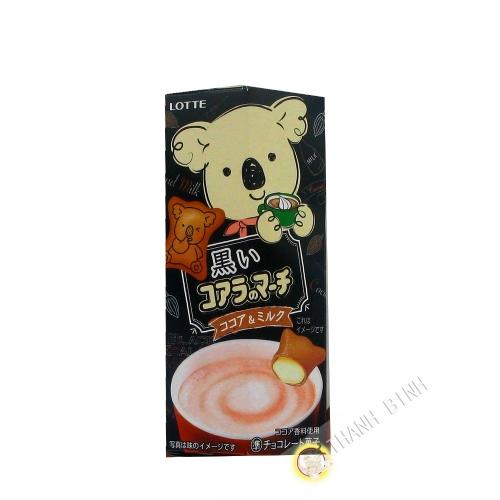 Biscuit fourrés au chocolat-lait LOTTE 48g JAPON