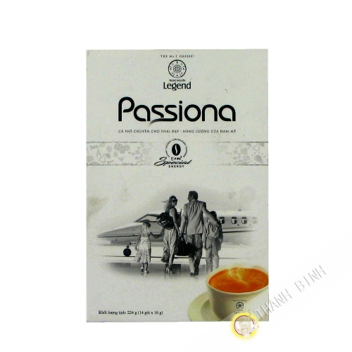 Caffè creme solubile Trung Nguyen G7 Passiona 14x16g - Vietnam - in aereo