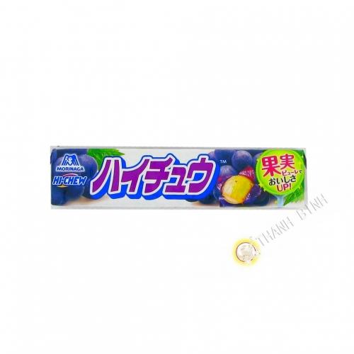 Caramelo de uva HOLA MASTICAR 55g Japón
