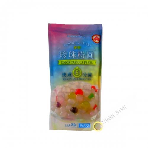 Bola de la burbuja de té de color WUFUYUAN 250g de China
