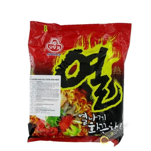Fideos Ramen picante Yeul Ramen OTTOGI 120g Corea