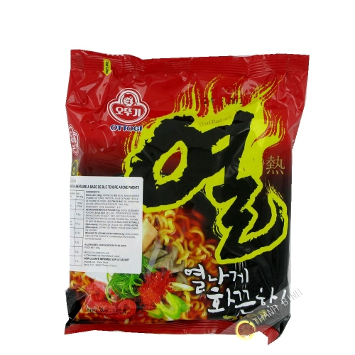 Noodle Ramen piccante Yeul Ramen OTTOGI 120g Corea