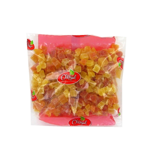Mix papaya and pineapple cubes ORIENCO 250g Thailand