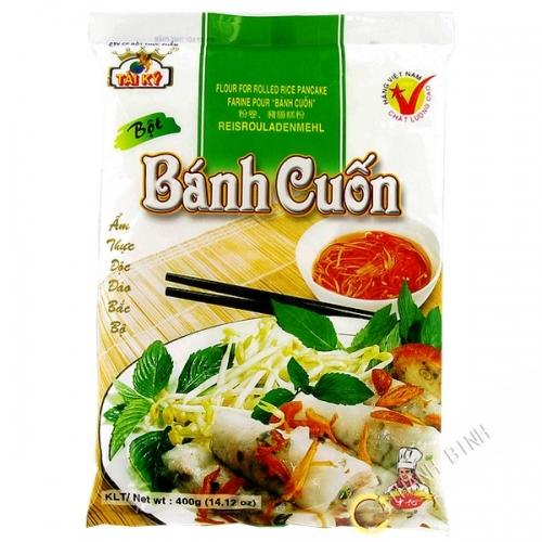 Farine raviolis banh cuon DRAGON OR 400g Vietnam