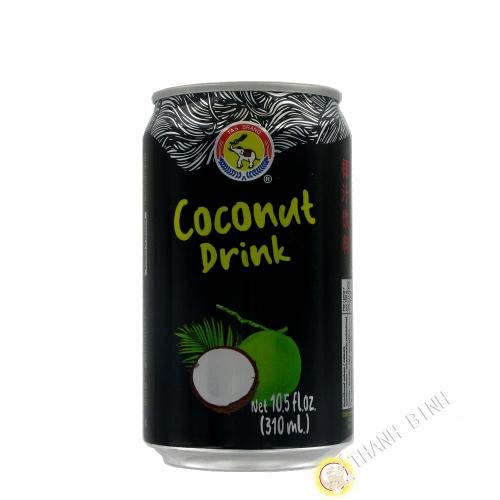 Jugo de 330 ml de leche de coco