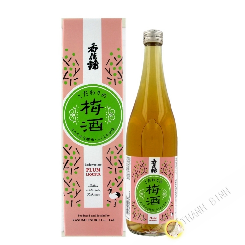 Il sake giapponese con Ume KASUMITSURU 720 ml 12° Giappone