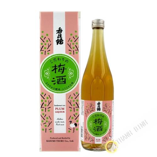 Sake japonés con Ume KASUMITSURU 720 ml 12° Japón