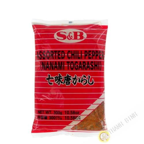 Melange spice shichimi SB 300g JP
