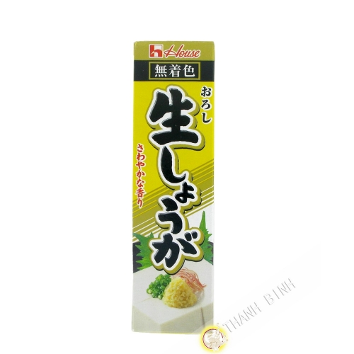 Puree de gingembre en tube HOUSE 40g JP