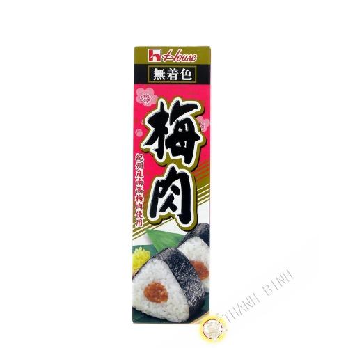 Pate de prune Umeboshi en tube HOUSE 43g JP