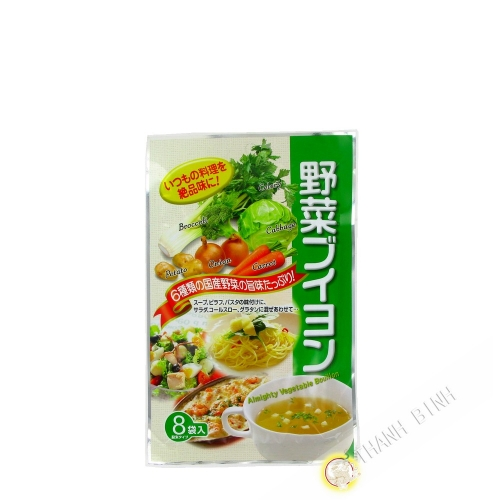 Caldo de legumbres polvo SANKO 32g JP