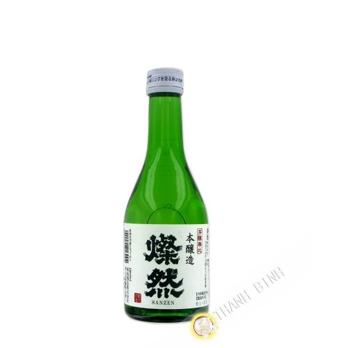 Saké japonais Honjozou SANZEN 300ml 16° JP