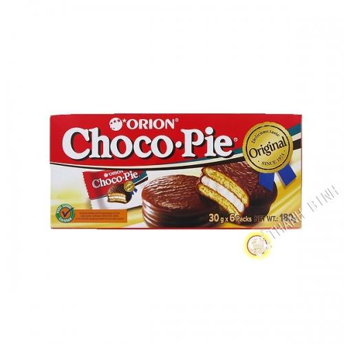 Kuchen mit schokolade-Choco Pie Orion 180g Cor'in