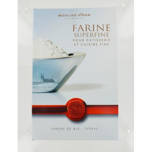 Wheat flour, superfine Mills Viron 1kg