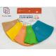 Mask textile adult color 3 layers fabric FASLINK 26x14cm Lot of 3pcs Vietnam