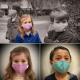 Máscara de textil infantil a color de 3 capas de tela FASLINK 20x11cm Mucho de 3pcs Vietnam
