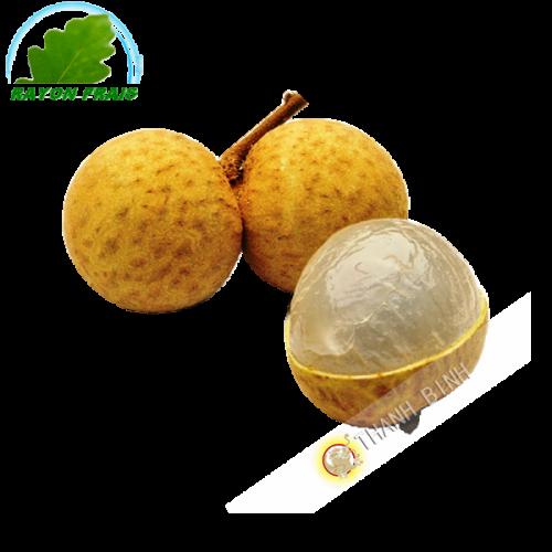 Longanes frais Indonésia (caisse de 2kgs)- FRAIS