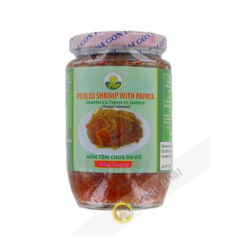 Garnelen-papaya in salzlake 454g Vietnam