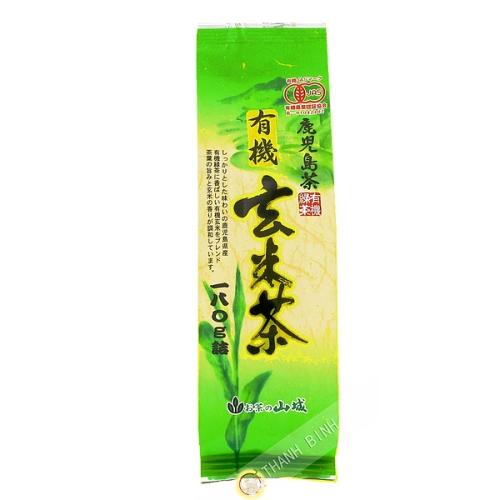 Té verde genmaicha orgánica 180g JP