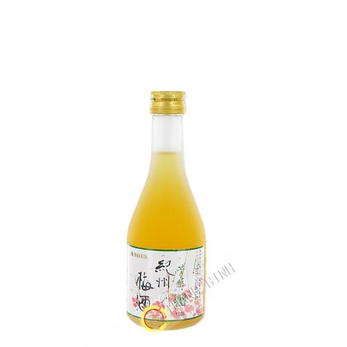 Umeshu japonés de Kishu No Shiro NAKATA 300 ml 12° Japón