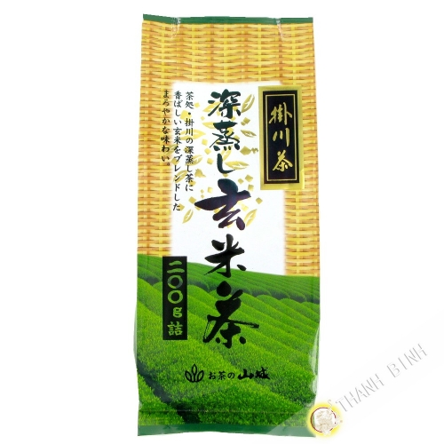 El té verde con arroz inflado YAMASHIRO 200g de Japón