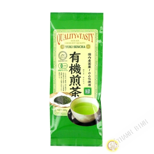 Thé vert sencha organic SOAN 100g Japon