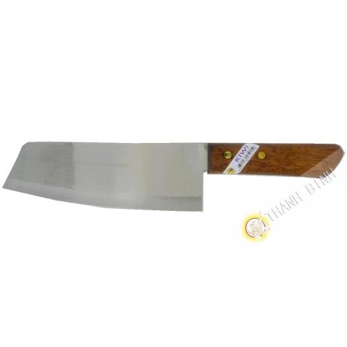 "Couteau cuisine pointu 8"" TH21 KIWI 6x30cm Thailande"