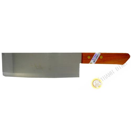 "Couteau droite 8"" TH22 KIWI 6x30cm Thailande"