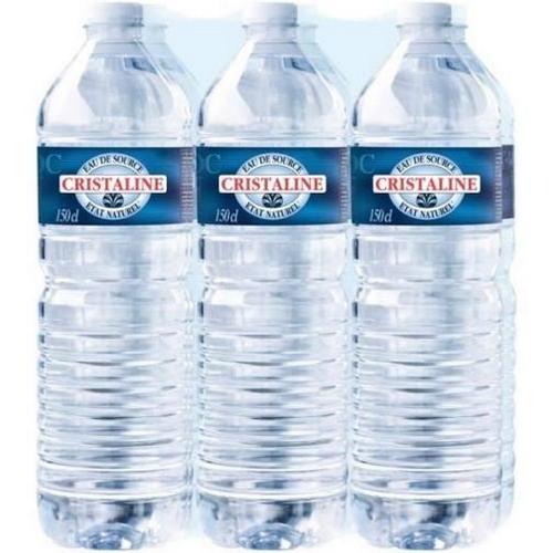 Cristaline eau de source 6x1,5l CRISTALINE