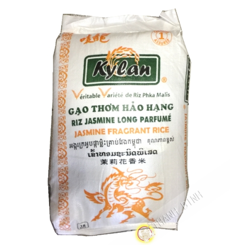 Jasmine rice fragrant long-KYLAN 18kg Cambodia 2021