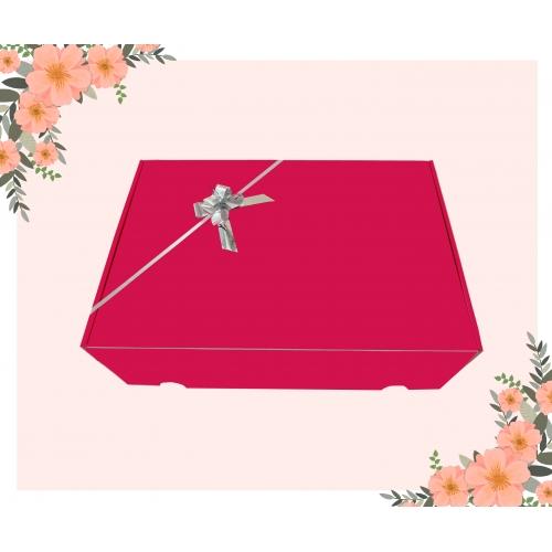 Boîte cadeau Fuchsia brillant 24x35x10cm