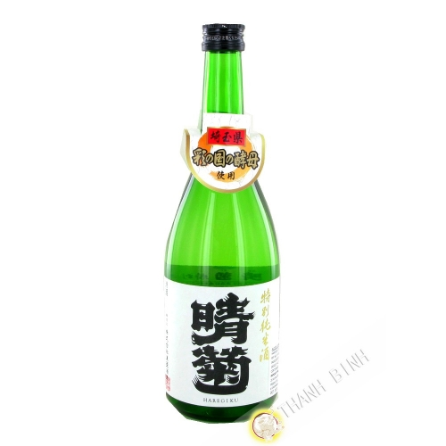 Japanese sake HAREGIKU 720ml 15-16° Japan