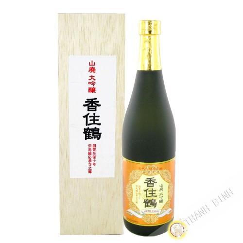 Japanese sake KASUMITSURU 720ml 15° Japan
