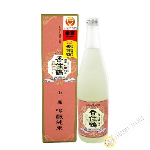 Saké japonais KASUMITSURU 720ml 15° Japon