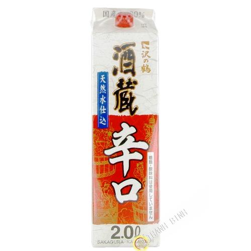 Sake japanese 2l 15.3° JP