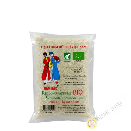 Rice fragrant long ORGANIC 1kg