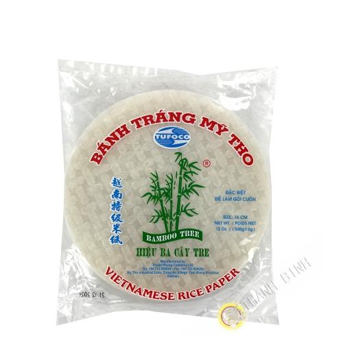 Feuille de riz spécial rouleaux printemps 16cm BAMBOU Vietnam