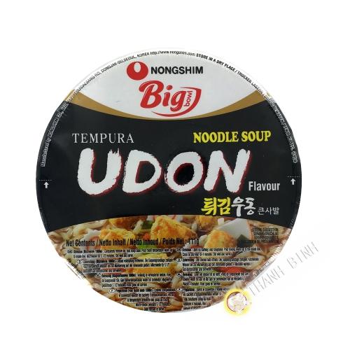 Soupe nouille udon tempura cup NONGSHIM 111g Corée