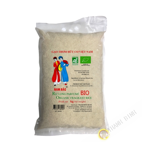 ORGANIC rice fragrant long NAM BAC 5kg Vietnam