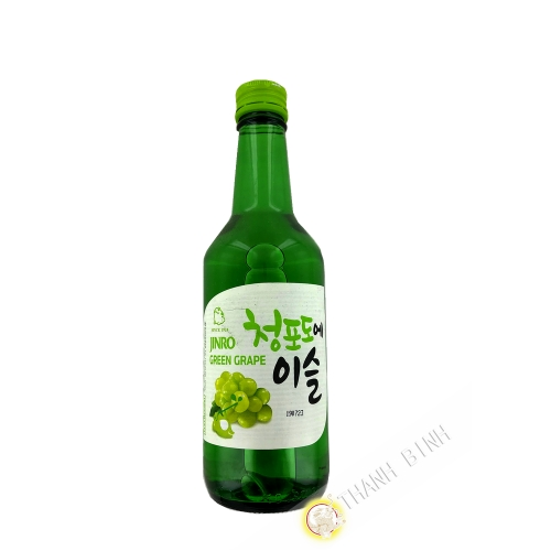 Chamisul soju uva verde 350ml 13 ° Corea