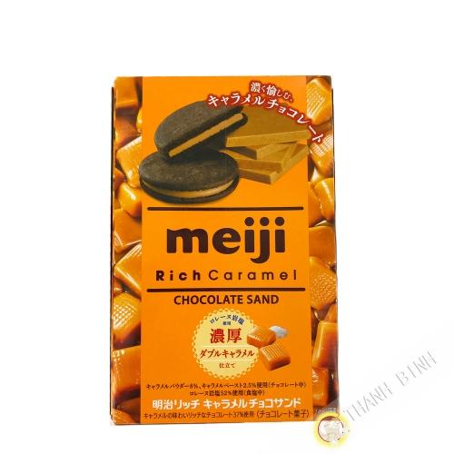 Bicuit Chocolat rich caramel MEIJI 96g Japon