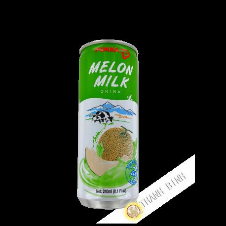 Boisson au melon et au lait  POKKA 240ml Singapour