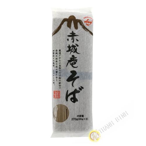 Pasta de trigo sarraceno soba AKAGI 270g Japón