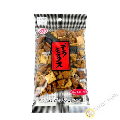 Delumix MINOYA rice biscuit 80g Japón