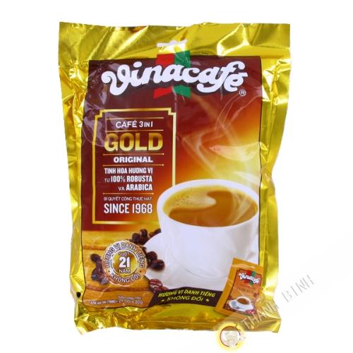 咖啡奶油溶3在1VINACAFE480g越南