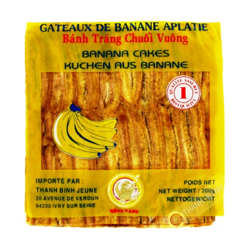 Banana flattened edge, 200g