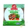 Feuille de riz 22cm pour nems Dragon d'or 400g VIETNAM